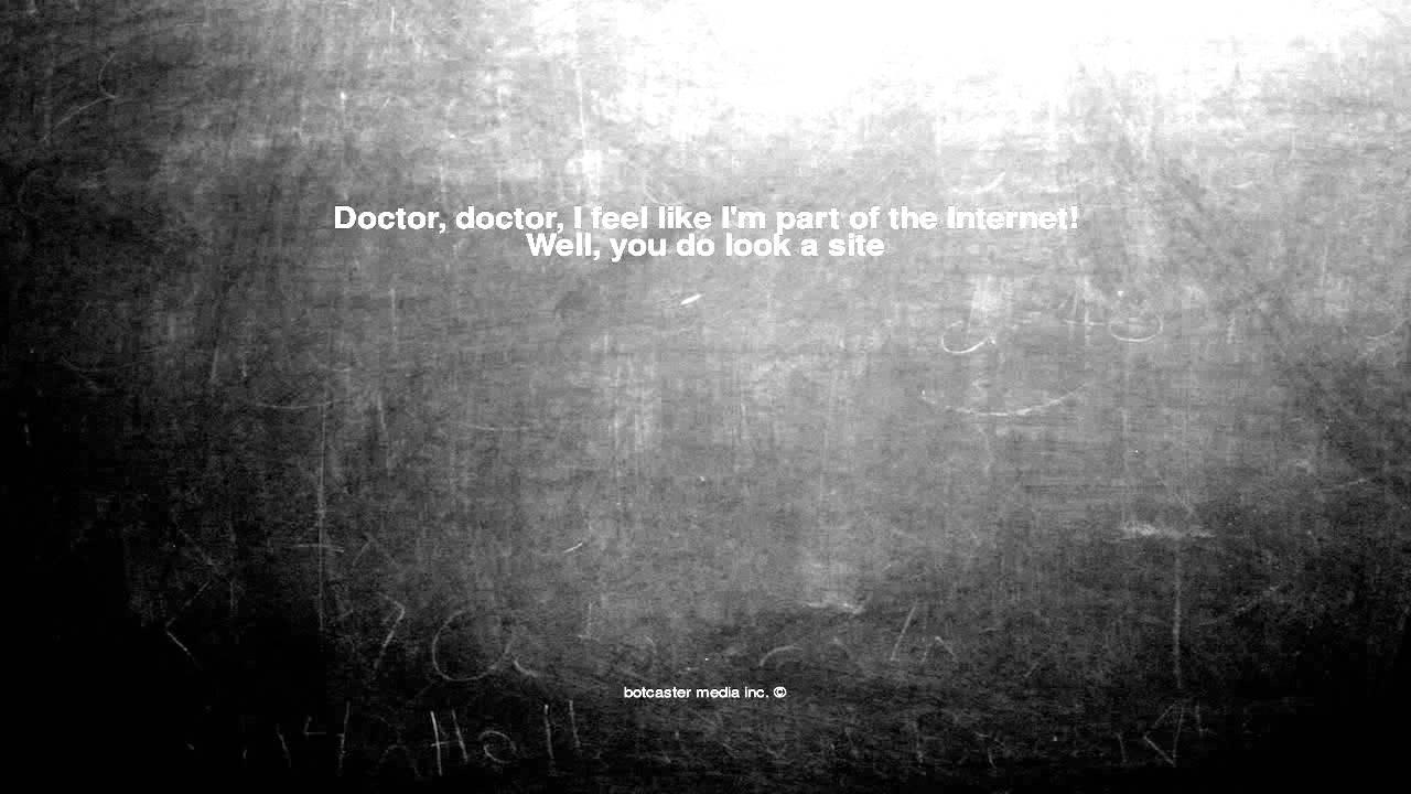 Doctor u make me feel so well