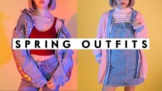 SPRING OUTFITS 2017 | 90s Lookbook | IAMKARENO