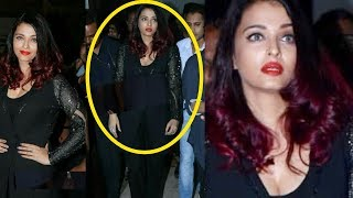 Aishwarya Rai Bachchan shows so much attitude in tennis launch event |Shocking