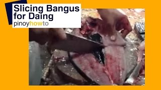 Dried Fish – Food: How to Slice Bangus for Daing | Pinoy How To