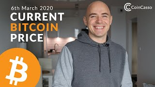 Current Bitcoin Price - March 6th 2020 (Bitcoin, Ethereum, Dash, Litecoin)