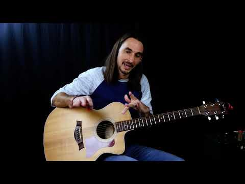 Blue Christmas guitar lesson - Elvis - Easy Christmas songs on acoustic