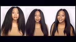 Brazilian Kinky Straight Hair Initial Review | Yvonne Hair Company
