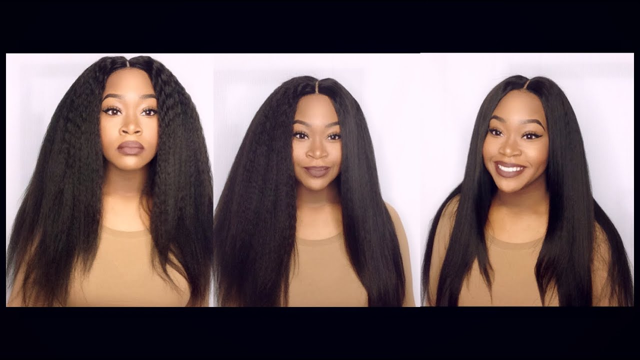 Brazilian Kinky Straight Hair Initial Review Yvonne Hair Company