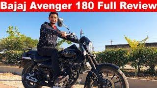 Bajaj Avenger 180 Full Review  No ABS?🔥Aayush ssm