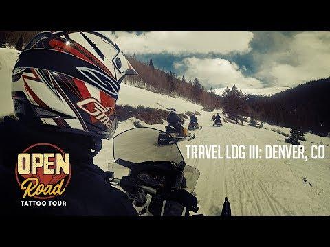 Open Road Tattoo Tour - Travel Log III: Denver, Colorado