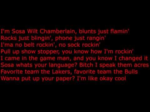 Chief Keef Sosa Chamberlain Lyrics On Screen