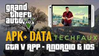 GTA 5 On Android by techFaux - APK + DATA LINK In Description 👇
