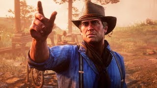 Red Dead Redemption 2 — Русский релизный трейлер игры (4K, 2018)