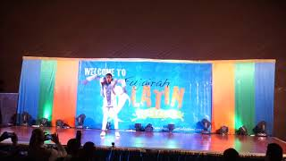 Osmani Segura afro cuban dance @ Fujairah salsa festival