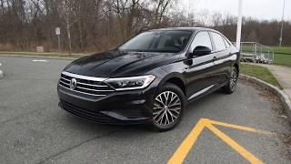 BRAND NEW 2019 Volkswagen Jetta SEL exterior at Trend Motors VW in Rockaway, NJ