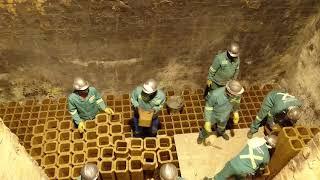 Packing of a Furnace Regenerator