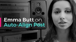 Emma Butt on Auto-Align Post