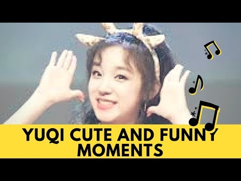 (G)IDLE   (여자)아이들 YUQI   Funny and Cute Moments