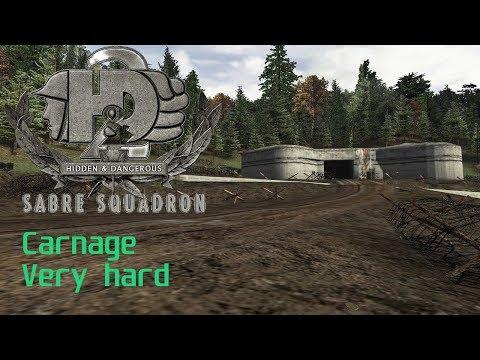 """Hidden & Dangerous 2(Сверхсложный уровень, Резня) - 23 миссия """"Освободитель"""" Последний бой"""