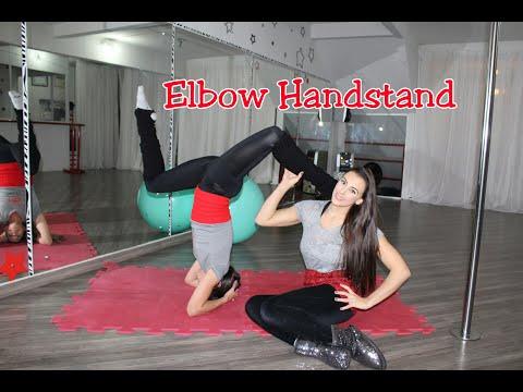 FlexDelícia Elbow Handstand - Tutoriais de Flexibilidade por Alessandra Rancan