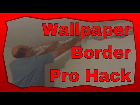 How to Hang Border Wallpaper