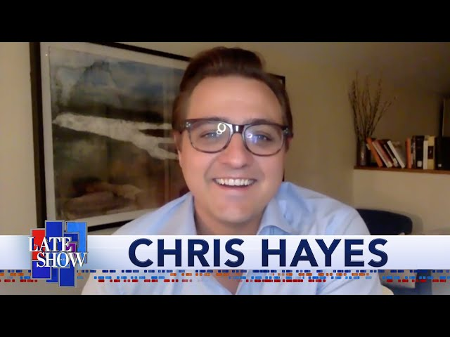 Chris Hayes: You Couldn't Find A Worst Person For This Moment