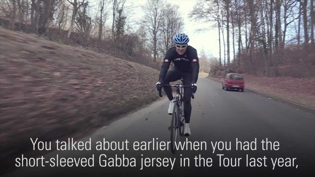 cb1b37594 Haussler testing the Gabba LS Jersey - YouTube
