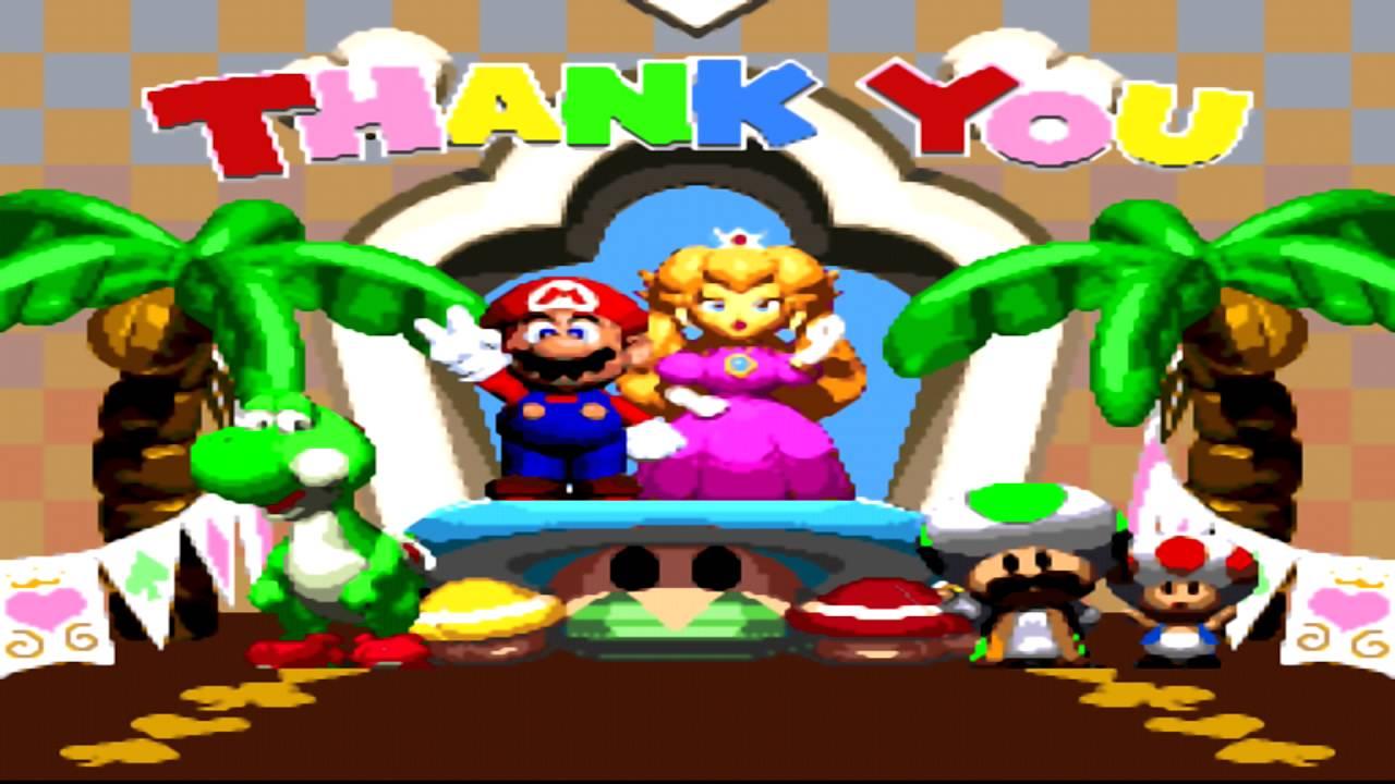 super mario rpg ending hd youtube rh youtube com Super Mario RPG Characters Super Mario RPG Legend of the Seven Stars
