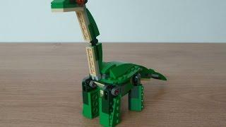 Лего 31058 Лего творець 3 в 1 2017 могутні динозаври Брахіозавр (секретний модель)