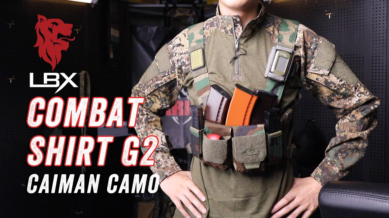 LBX Tactical Combat Shirt G2 Caiman Camo Review LBX战斗服上衣试身简评