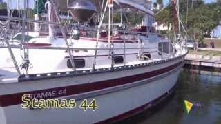 "SOLD!!! Stamas 44 ""Gemini Dream"" Sailboat for sale at Little Yacht Sales, Kemah Texas"