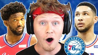 FINISHING THE PROCESS! Philadelphia 76ers Rebuild! NBA 2K19