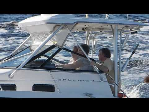 Bayliner Outboard cruising in the ICW