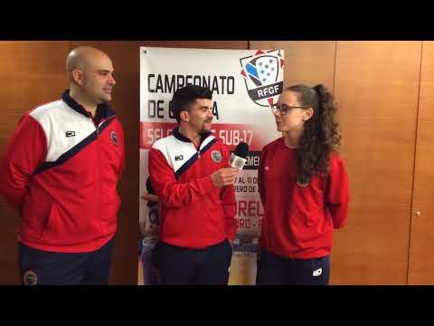 Campeonato de España sub-17 femenino  (Entrevista post partido Cantabria)