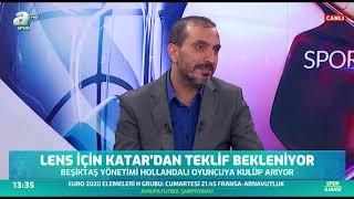 Beşiktaş Gündemi Lens Diaby A Spor Spor Ajansı 05 09 2019