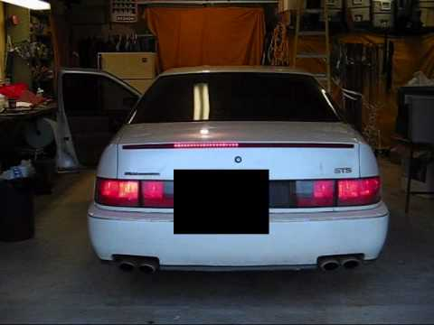 Cadillac Custom Sequential Led Third Brake Light Youtube