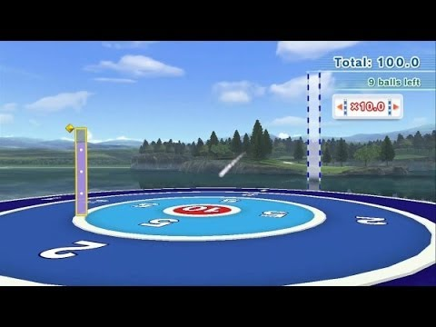 Wii Sports Club - Golf Driver Training - Platinum Medal (704.8 Pts)