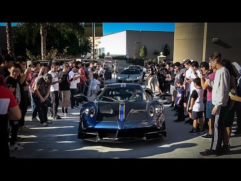 How to Crash a Car Show: Bring a $5 Million Pagani Huayra BC