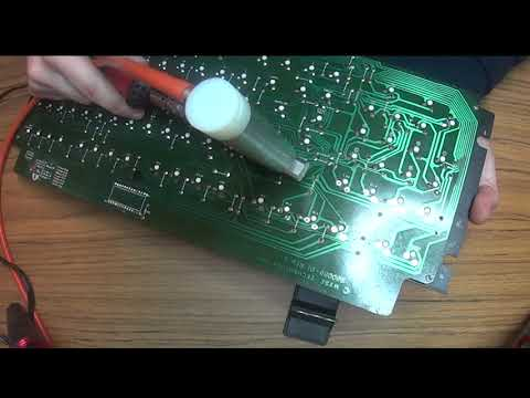 VDI-1 Keyboard Switch Desoldering with Updated Hot End