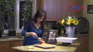 Samira Kitchen # 152 Stuffed Eggplants شيخ محشي، Kanafa With Cheese كنافة مع الجبن