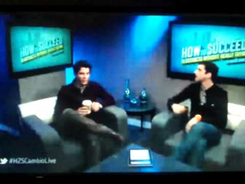 Nick Jonas And Michael Urie Live Chat 23/01/2012 Part 1