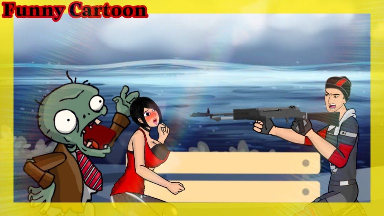 【Funny Cartoon Animations】Jota Vs Zombie 🤣। Funny Animated Short Film । Free Fire Funny Moments