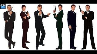 Бонд 007! Джеймс Бонд  все фильмы.