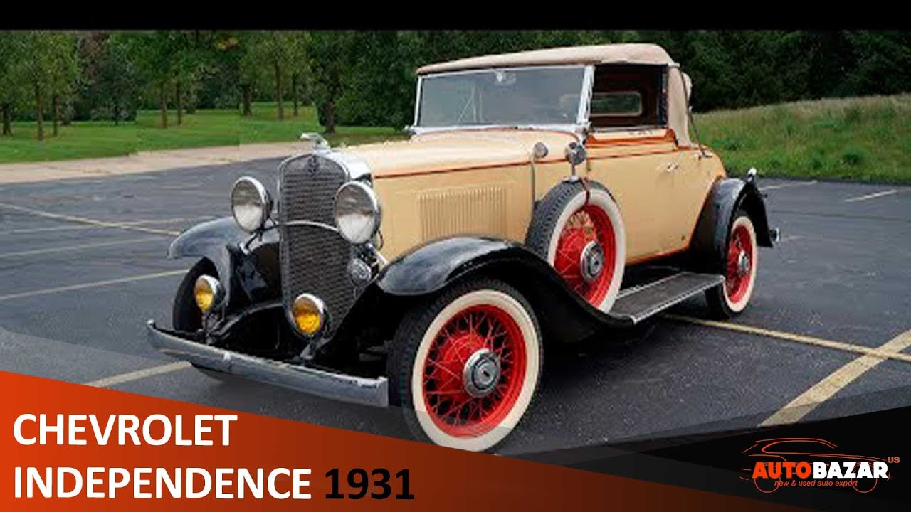 РЕТРО АВТОМОБИЛЬ: 1931 Chevrolet AE Independence Cabriolet. Обзор раритетного авто на русском.