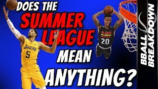 Does NBA Summer League Performance Mean Anything?