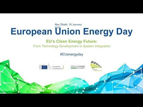 European Union Energy Day at WFES 2018