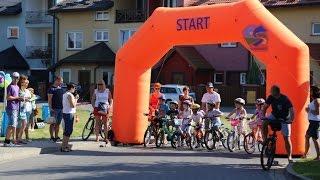 Wy�cigi rowerowe dla najm�odszych w Olszewie-Borkach