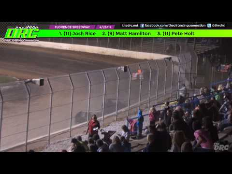 Florence Speedway | 4.26.14 | UMP Modified Feature