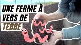Vers de terre! Ferme Lombricole semi-industriel au Maroc...