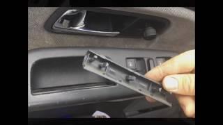 Comment enlever la poignée de porte - contrôle vitres électriques: Ford Galaxy VW Sharan Seat