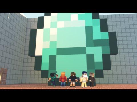 Minecraft: O MAIOR DIAMANTE - NOVO MINI GAME! (Build Battle)