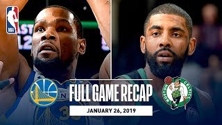 Full Game Recap: Warriors vs Celtics | GSW & BOS Battle Down The Stretch
