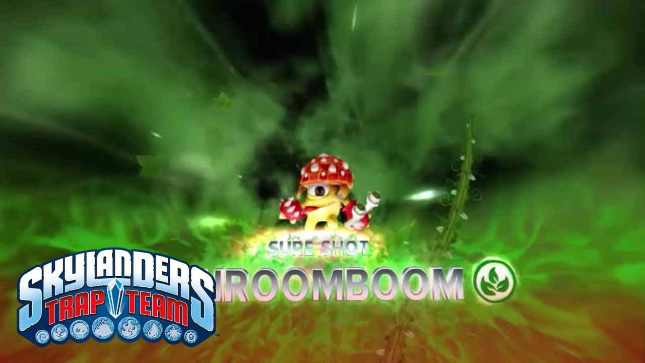 Meet the Skylanders: Sure Shot ShroomBoom l Skylanders Trap Team l  Skylanders