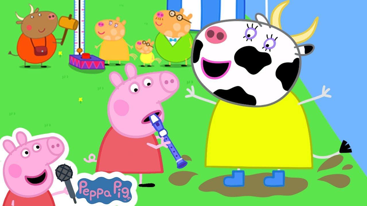 Peppa's Animal Sounds Song | Peppa Pig Songs | Peppa Pig Nursery Rhymes & Kids Songs